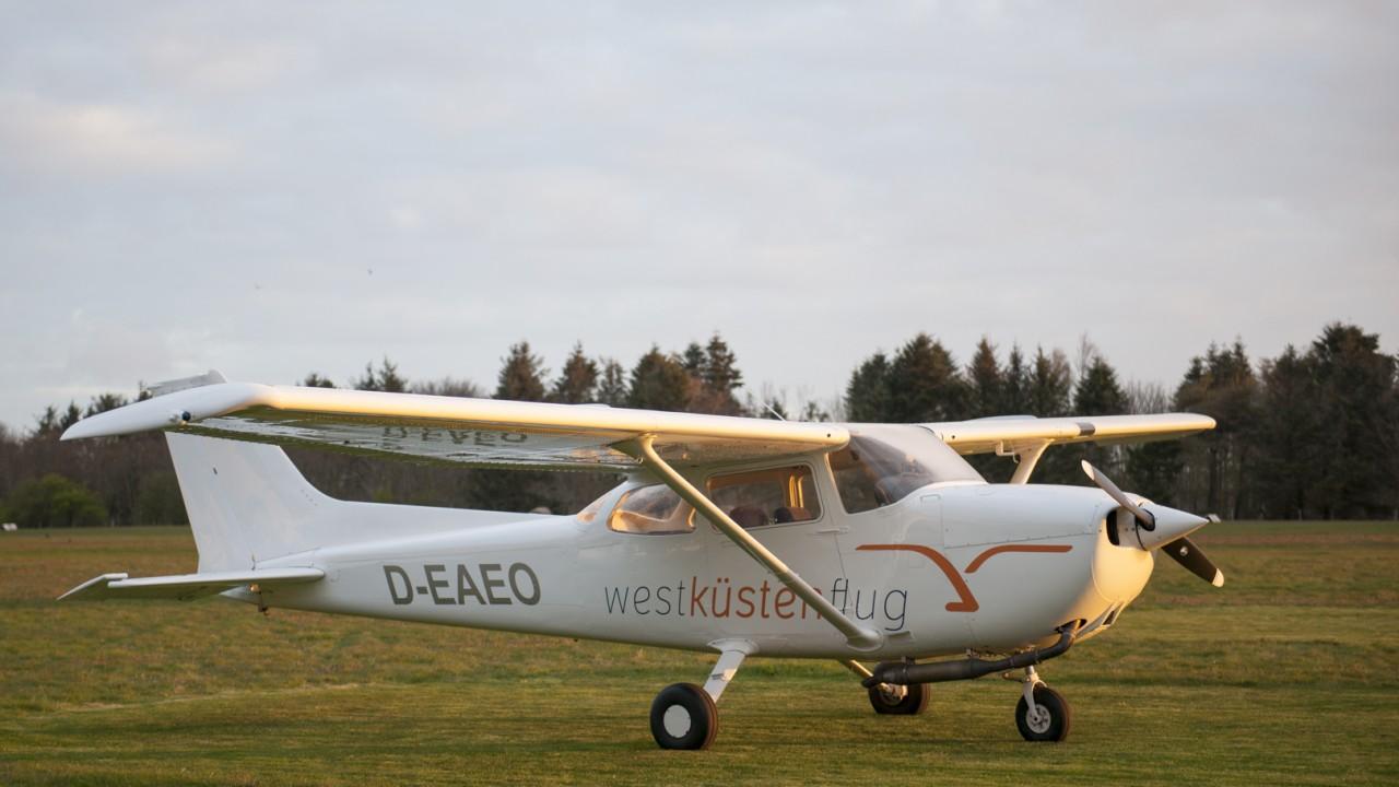 Linienflug Cessna 172